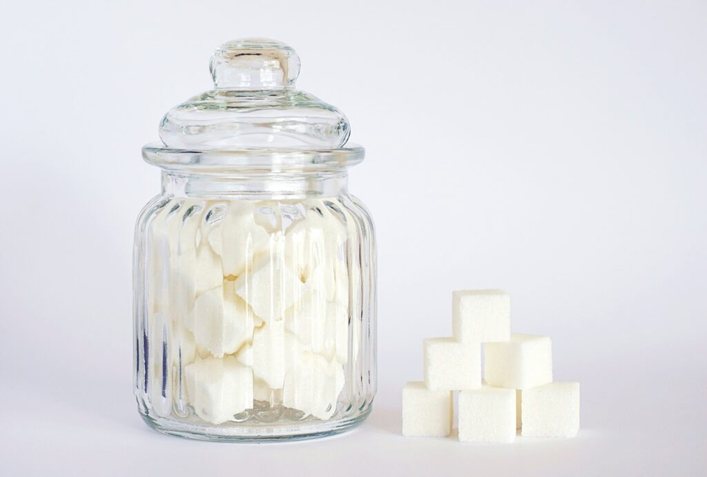 The best known sugar is the white household sugar, which is very often used in ice cream production