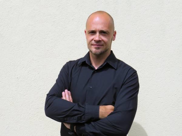 Roman Schaller founded the franchise company Mia Gelateria in 2014 (Photo: Messe Stuttgart , Photo credits Mia Gelateria)
