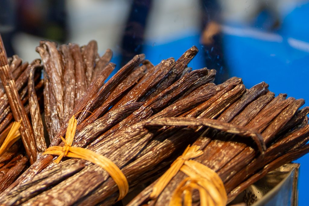 Vanillin is never a complete substitute for the taste of a real vanilla pod. However, the worldwide demand could never be covered by real vanilla.